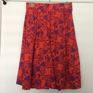 Dresses & Skirts - LuLaRoe Madison German Shepard Print Skirt